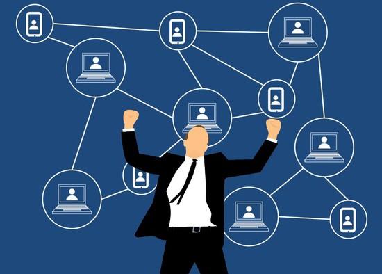 Illustration article blockchain