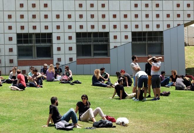 Campus universite de Tel_aviv