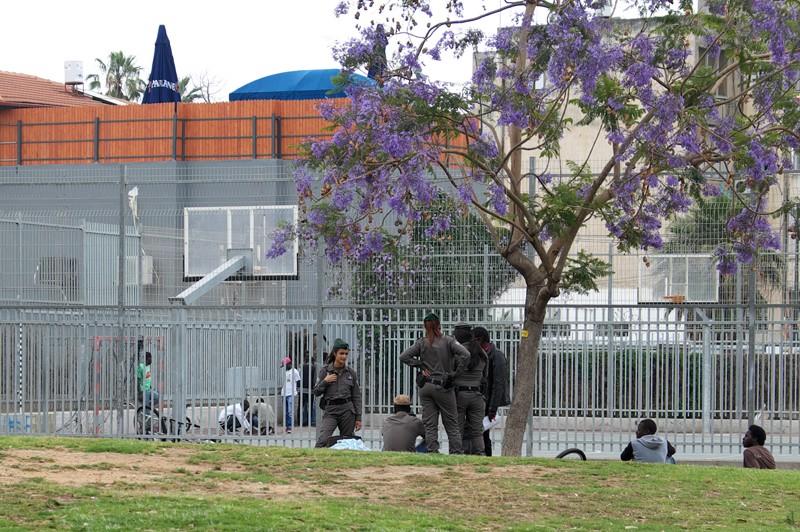 Contrôle immigrés Tel Aviv