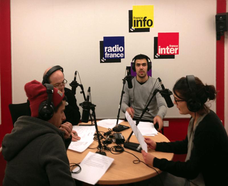 Radio avec François Lepage