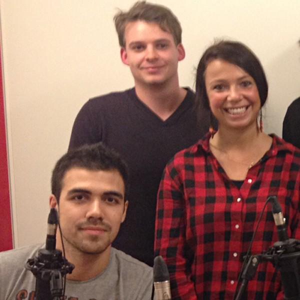 Florian Guadalupe et Pierre-Yann Mazari avec Raphaëlle Thomas