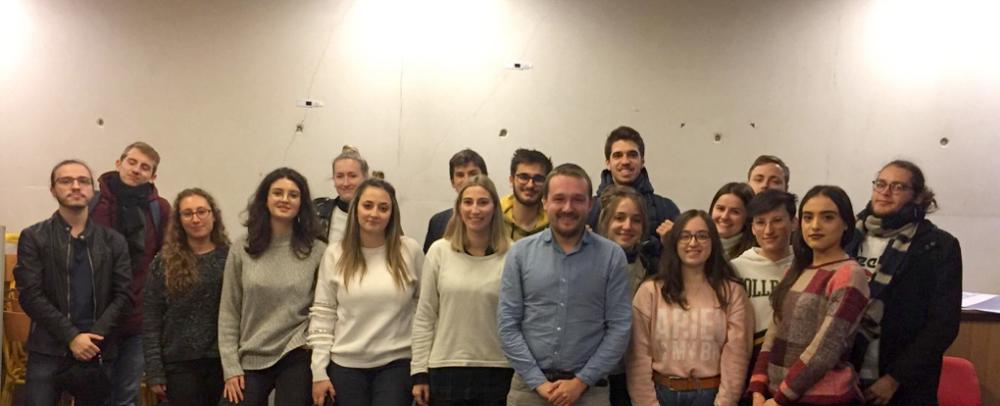 Remy_Buisine et les étudiants en journalisme de l'UCP