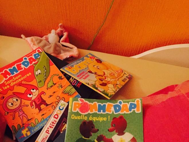 70% des enfants lisent des magazines en France