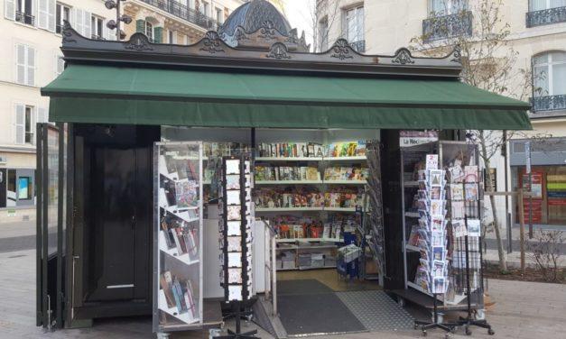 À Vincennes, le marchand de presse tente d'atténuer les pertes