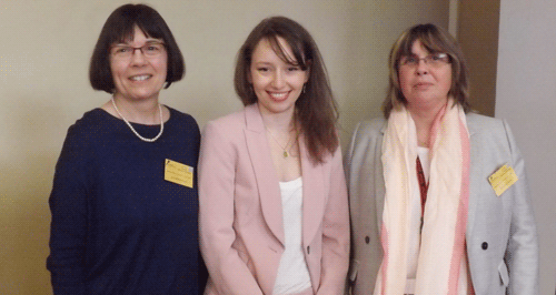 Assia Labbas avec Sylvie Brodziak  et Valérie Amyot