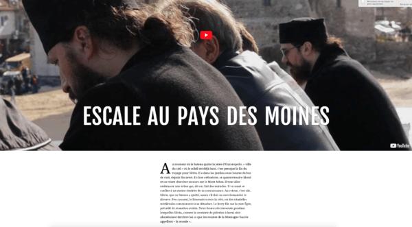 Escale des moines - Article du 4 heures