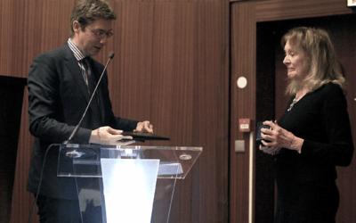 Annie Ernaux honorée par l'UCP