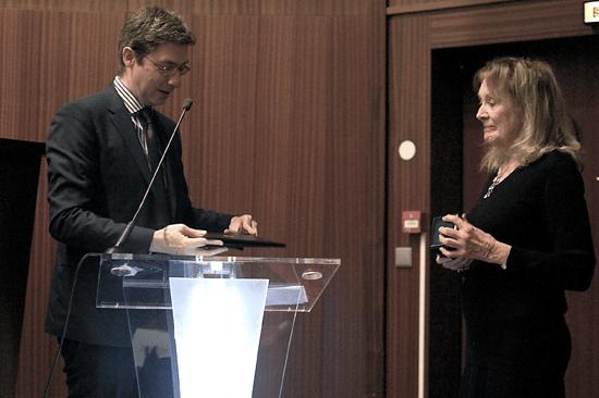 Doctorat honorifique remis à Annie Ernaux