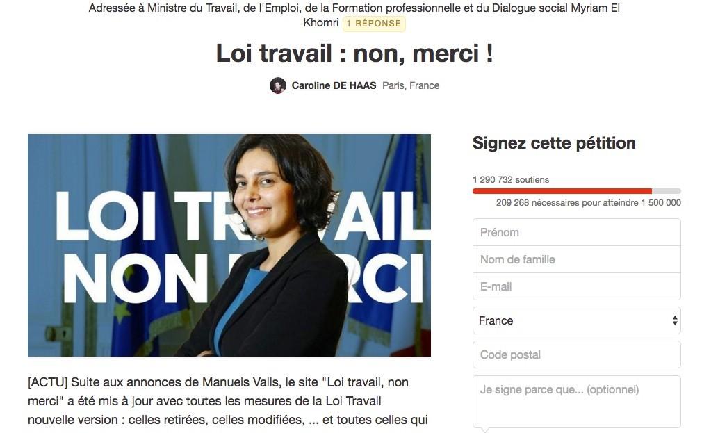 #LoiTravail : à quoi servent les mobilisations en ligne ?