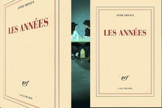 Couverture du livres les années