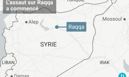 Début d'une offensive contre EI sur Raqa en Syrie