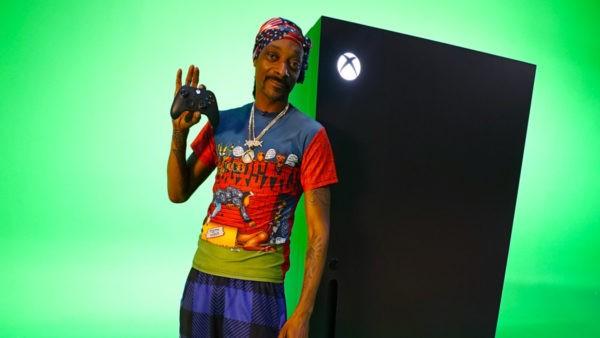 SnoopDog et son frigo Xbox Serie X