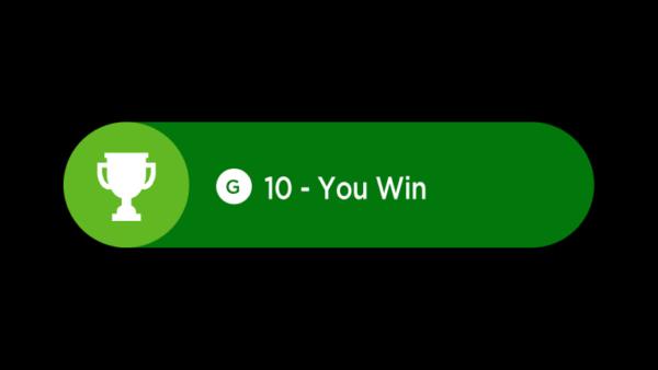 """Exemple d'un """"Succès"""" sur la Xbox 360"""